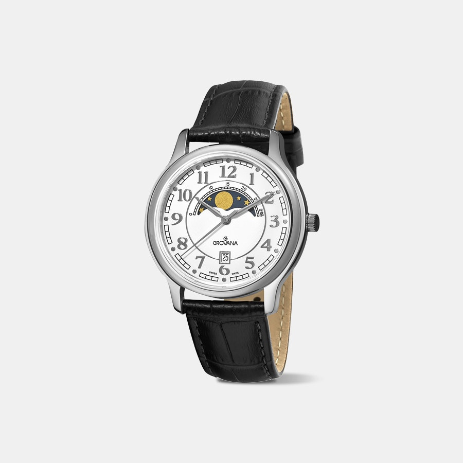 Grovana 1026 Moonphase Quartz Watch