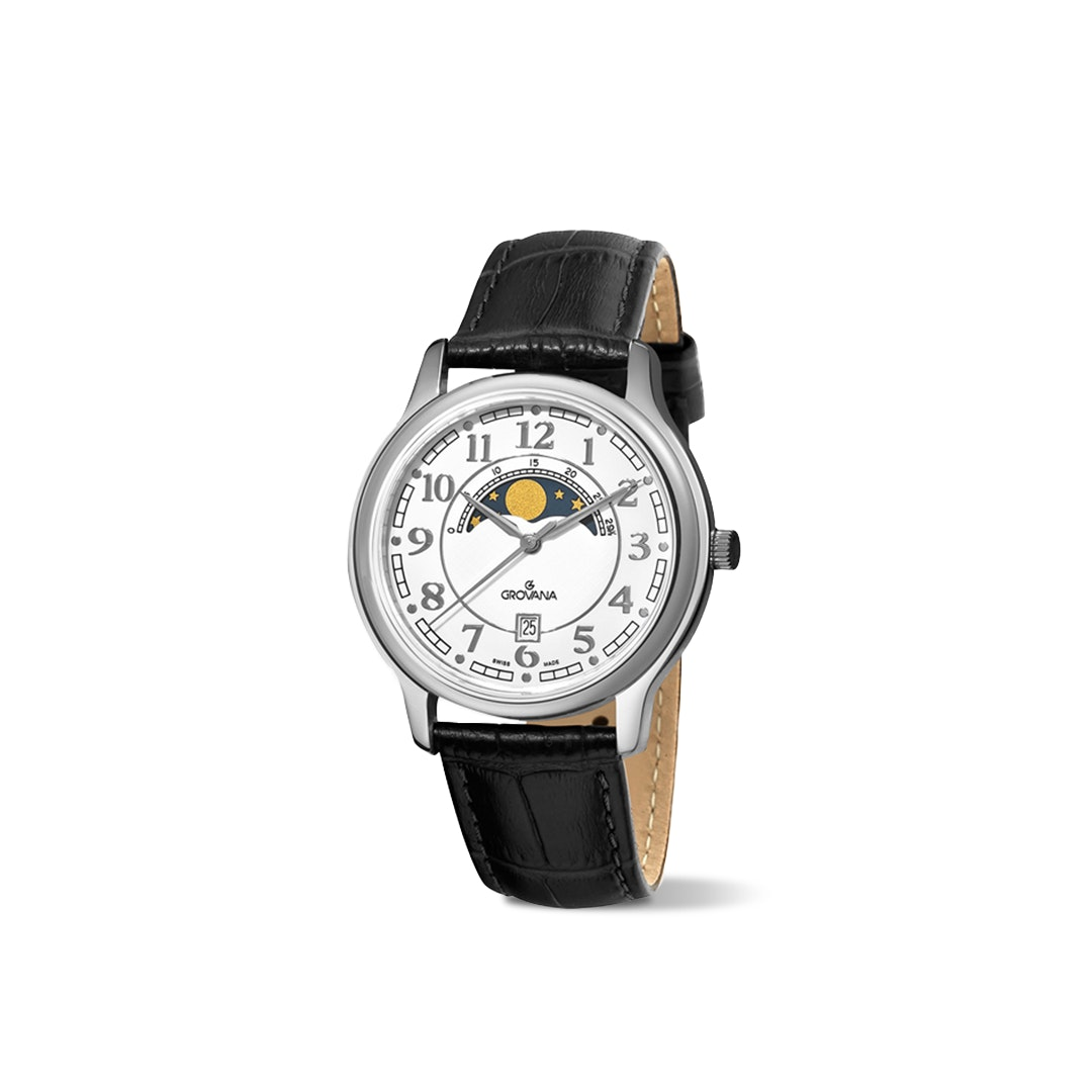 Grovana 1026 Moonphase Quartz Watch