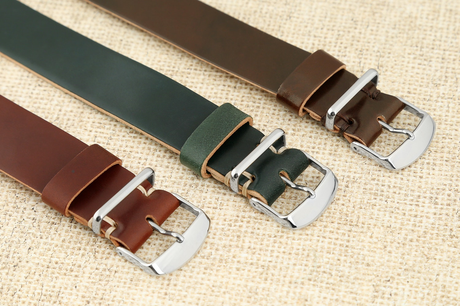 Guarded Goods Shell Cordovan Watch Strap