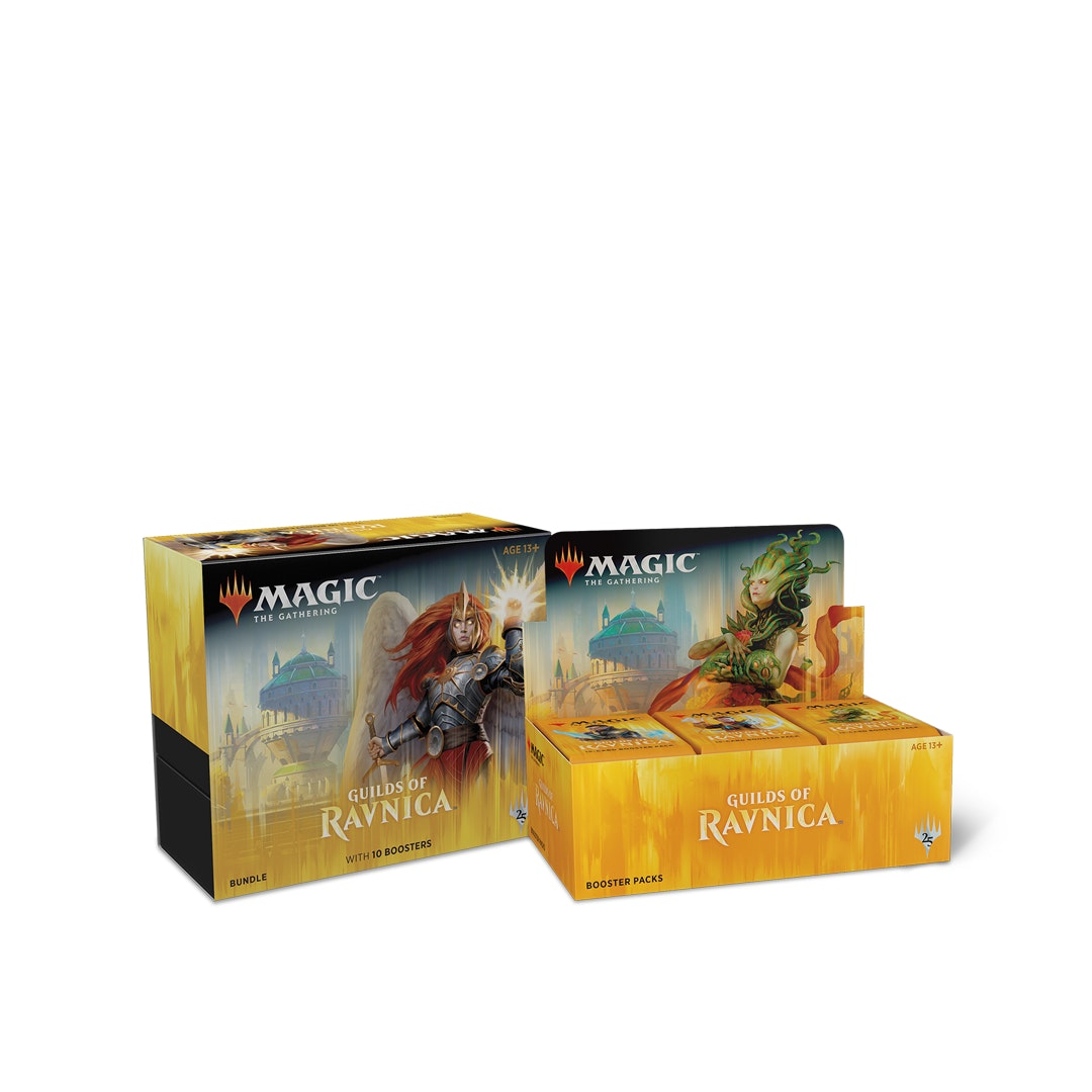 Guilds of Ravnica Booster Box + Fat-Pack Preorder