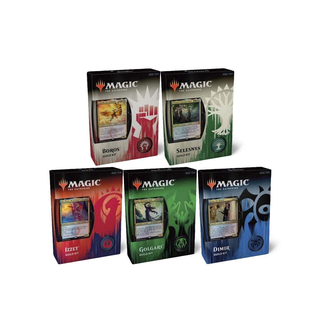 Guilds of Ravnica Guild Kit (Set of 5)