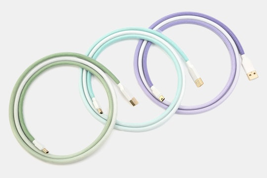 Gummy Worms Sleeved USB Cable