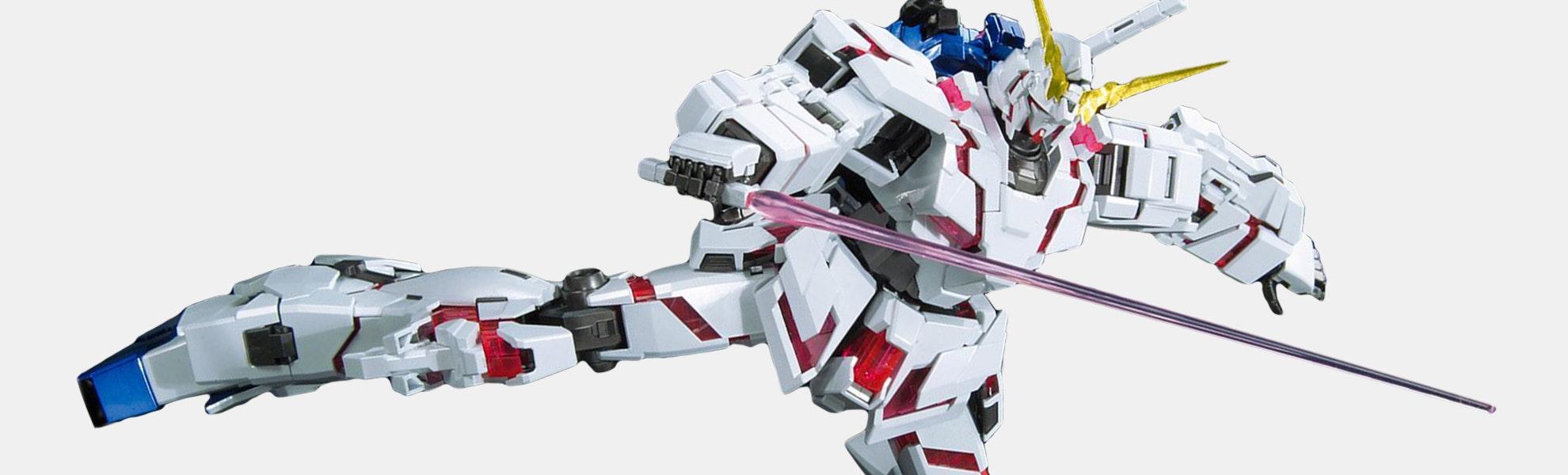 Gundam MG Unicorn Gundam Titanium Finish 1/100th
