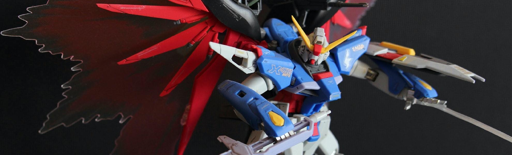 Gundam Seed Destiny Extreme Burst Mode MG 1/100th