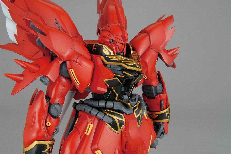 Gundam Sinanju Animation Color Ver. MG 1/100th