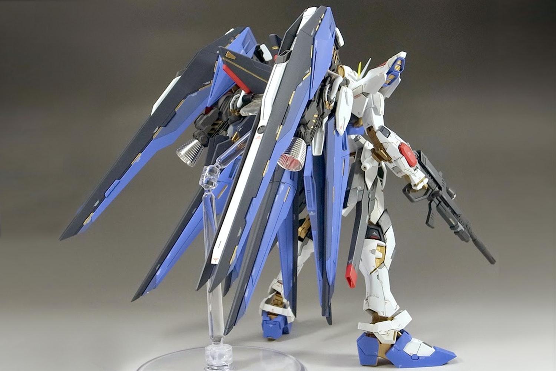 Gundam Strike Freedom Full Burst Mode Master Grade