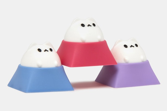 Hammer Bubble Cat Artisan Keycap