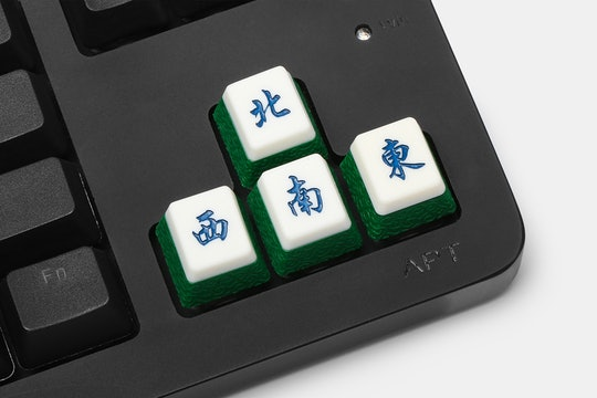 Giant Pineapple Mahjong Artisan Keycap