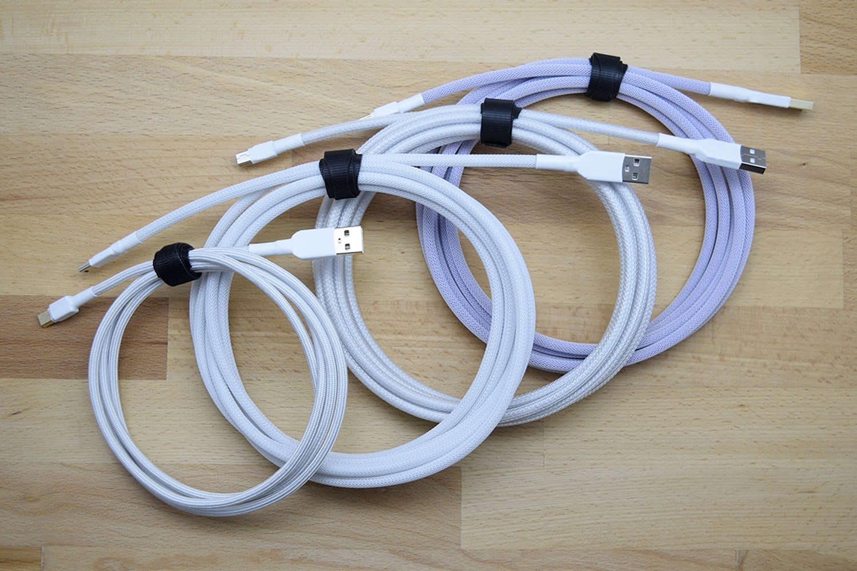 Hana Custom Sleeved USB Cable