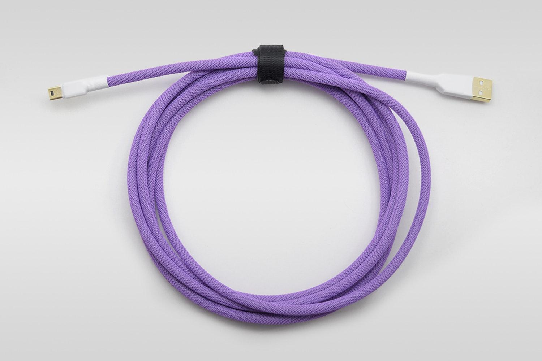 Lavender paracord w/ Purple Techflex