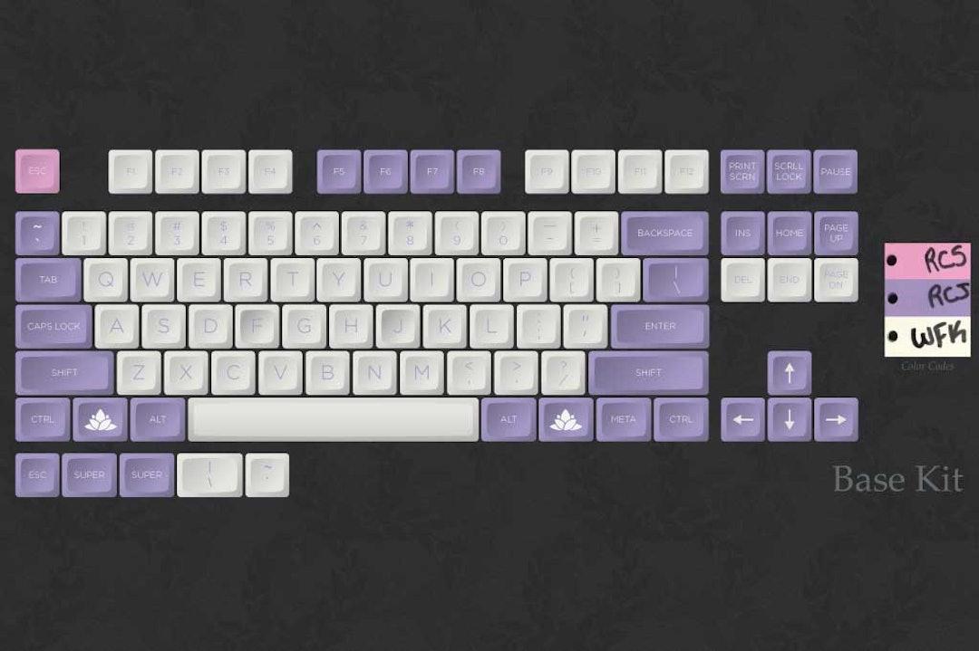 Hana DSA Custom Keycap Set