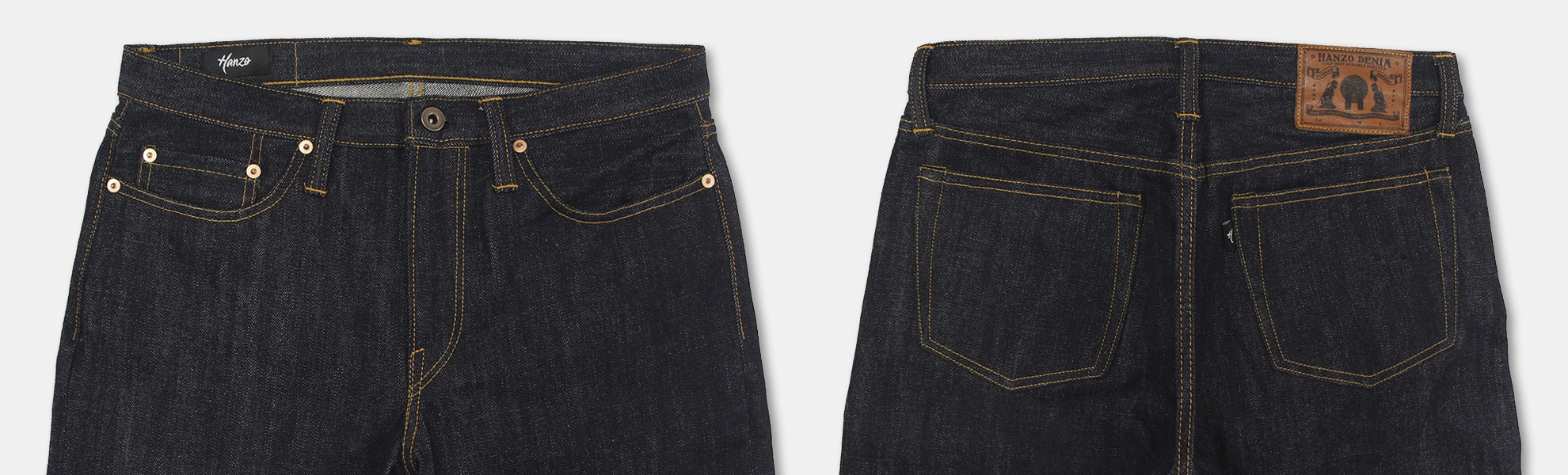 Hanzo 710 Blue Indigo 14oz Denim