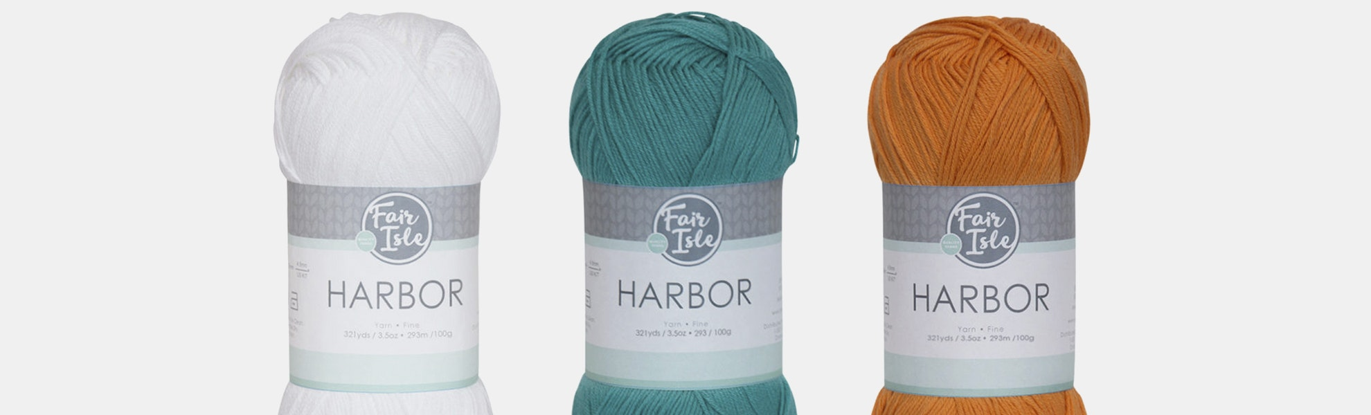 Harbor Yarn by Fair Isle (3-Pack)