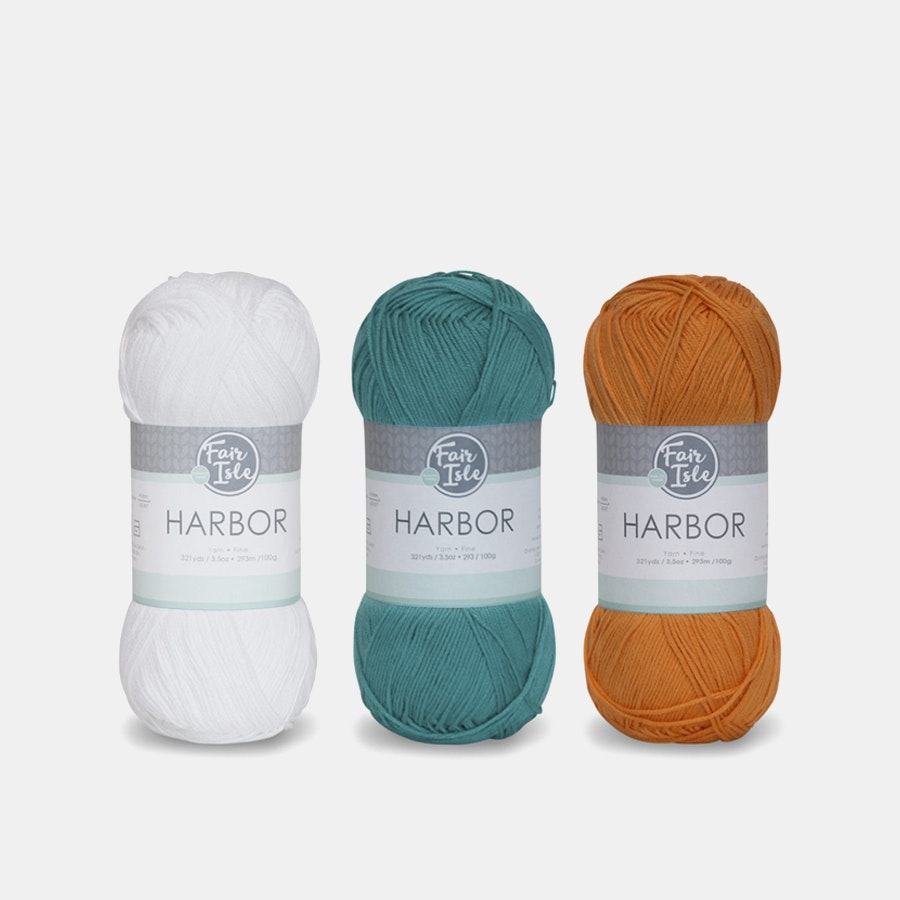 Harbor Yarn by Fair Isle (3-Pack)