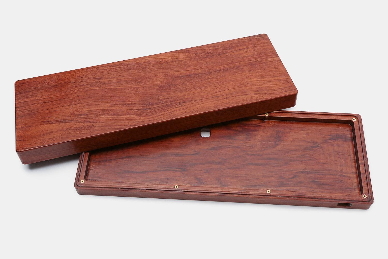 Hard Wood Case for White Fox Mechanical Keyboard