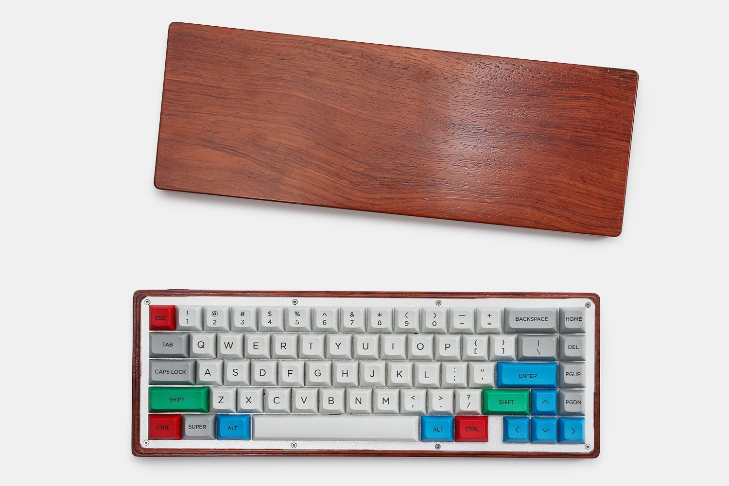 Hard Wood Case for White Fox Mechanical Keyboard
