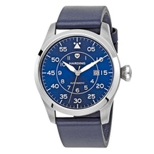 Blue Dial, Stainless Steel Case HJ0202