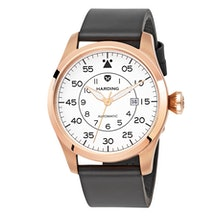 White dial with PVD Rose Gold tone case