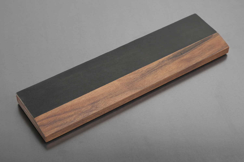 Royal Glam Leather-Hardwood Wrist Rests