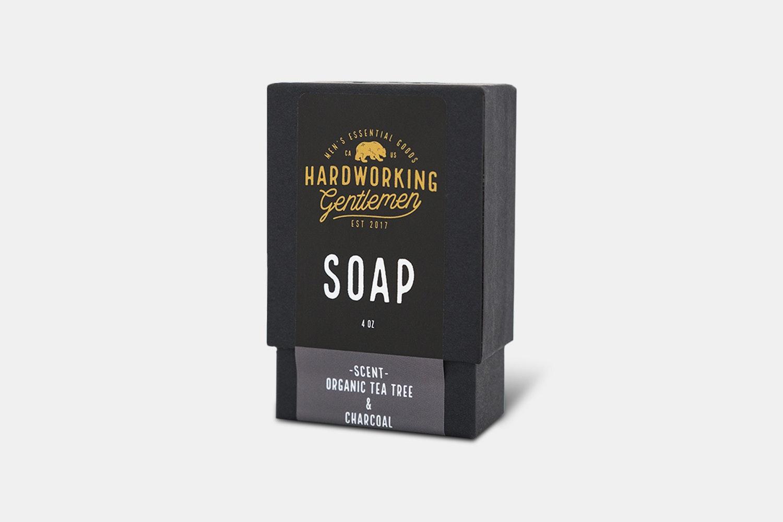 Organic Tea Tree & Charcoal Soap