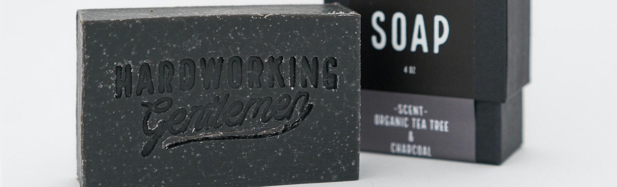 Hardworking Gentlemen Soap Bars (2-Pack)