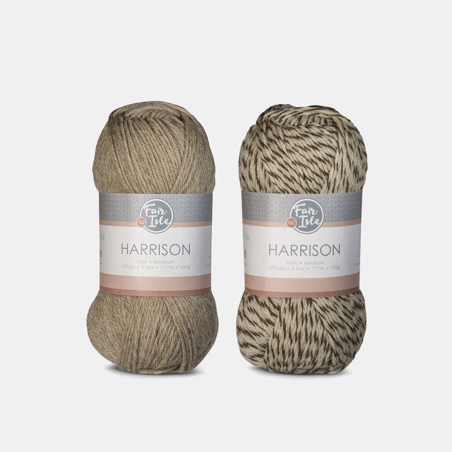 Harrison Yarn by Fair Isle (2-Pack)