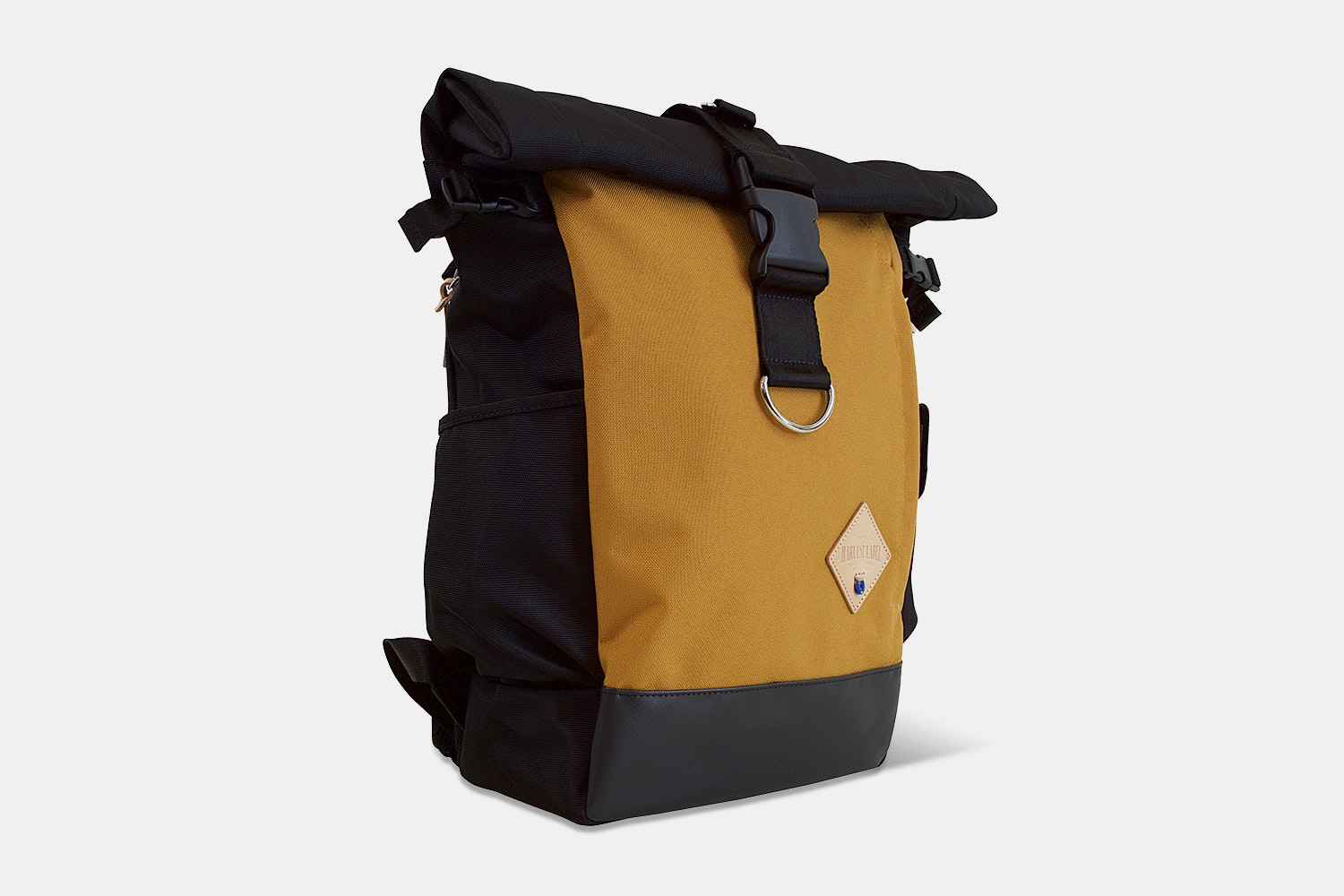 Classic Rolltop Backpack - Mustard
