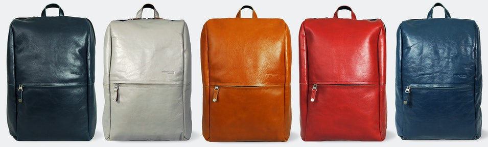 Harvest Label Leather Avenue Backpack | Price & Reviews | Massdrop