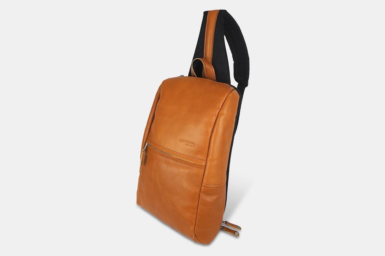 Harvest Label Leather Avenue Sling Pack