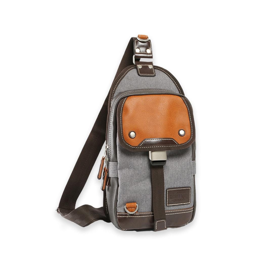 Harvest Label Parkland Messenger Bag Beige