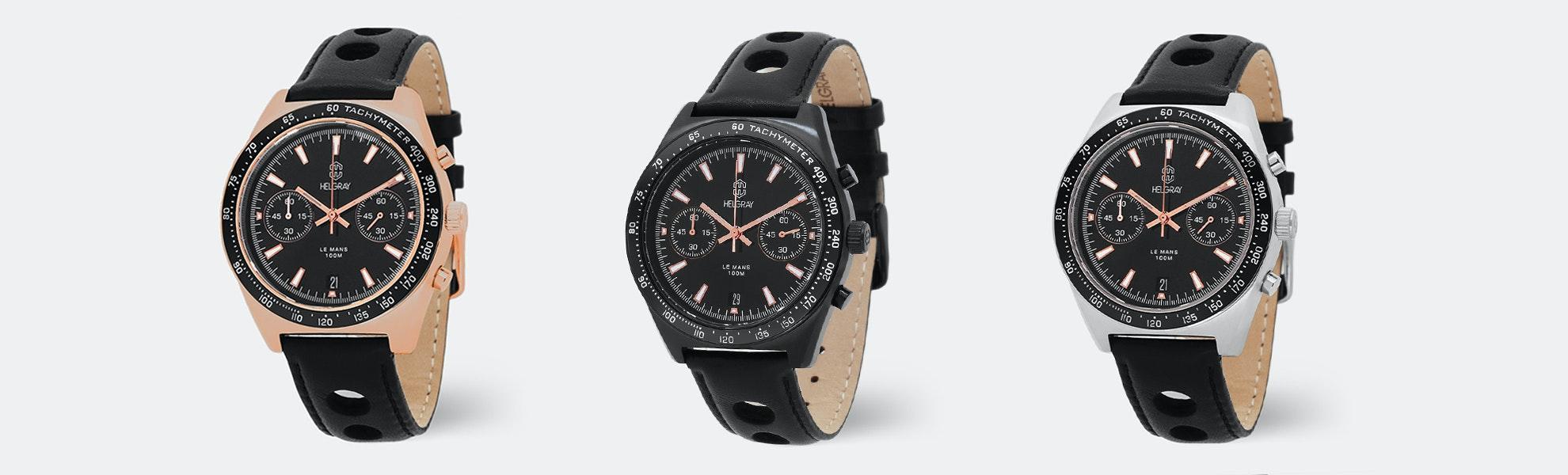 Helgray Le Mans Watch