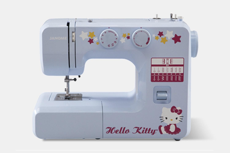Hello Kitty Janome Sewing Machine Bundle