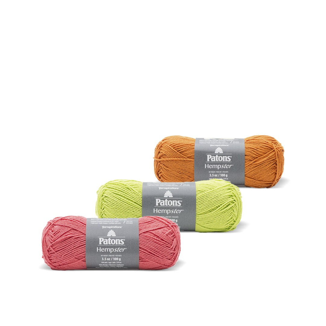 Hempster Yarn by Patons (3 Pack)