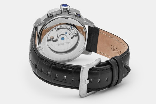 HERITOR Lennon Skeleton Automatic Watch