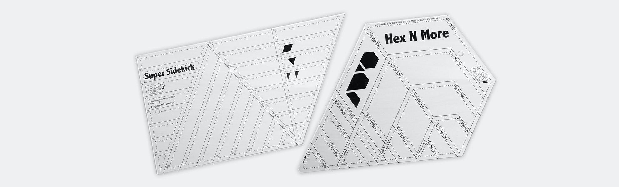 Hex N More Ruler Bundle