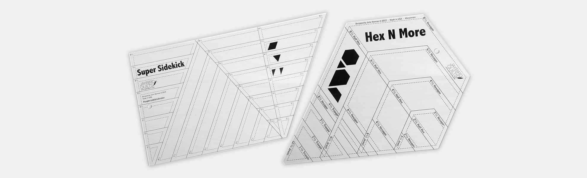 Hex N More Ruler Bundle