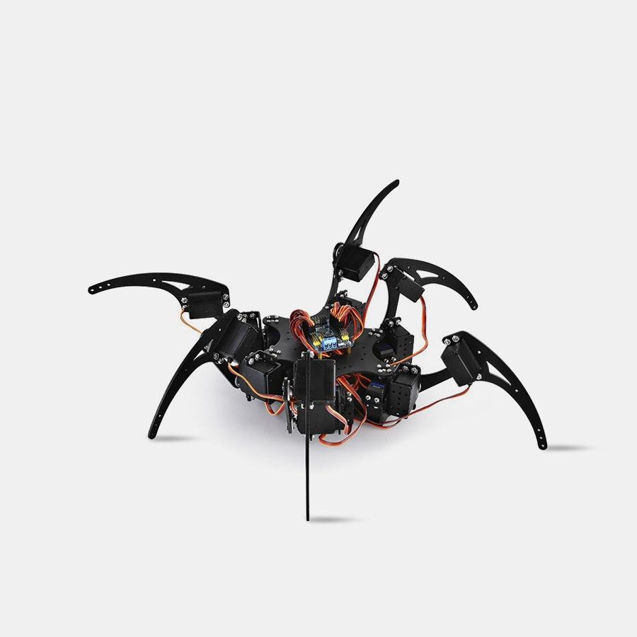 Hexapod Spider Robot Bundle w/Remote Control