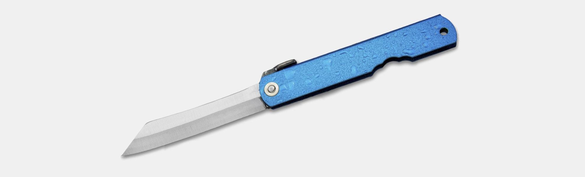 Higonokami Mizushibuki Splash Folding Knives