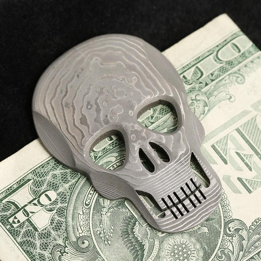 Hikari Damascus Money Clips
