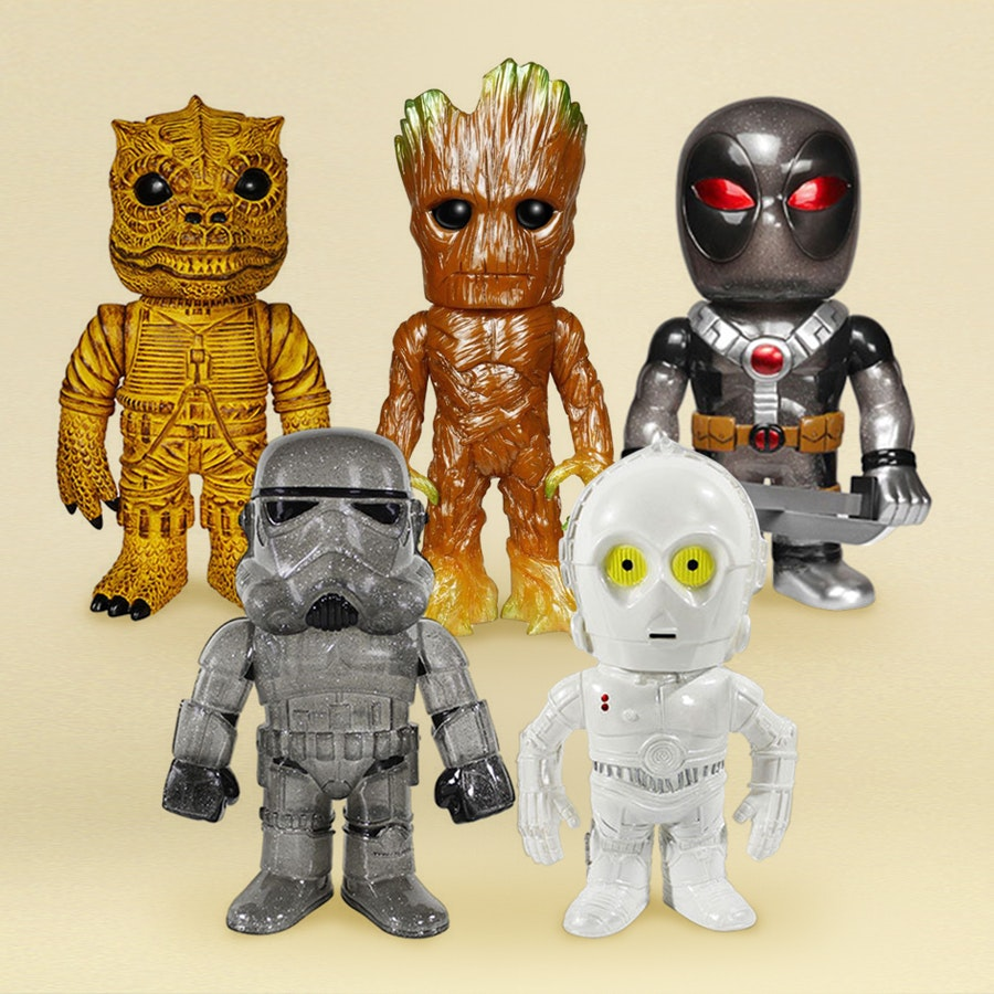 Funko POP! Hikari Vinyl Limited Edition Figures