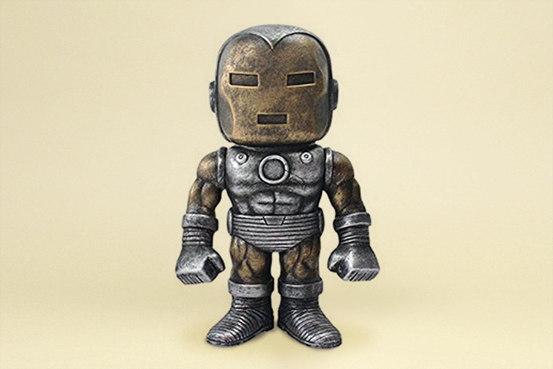Iron Man Raw Steel