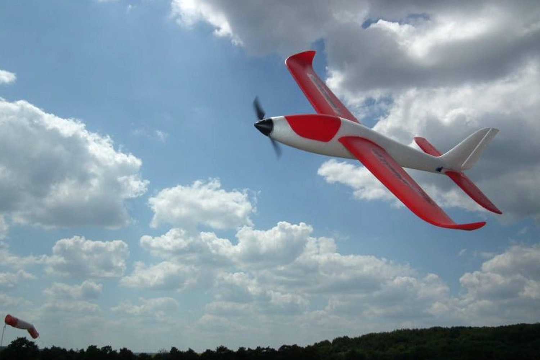 Hitec eHawkeye RTF Airplane Bundle
