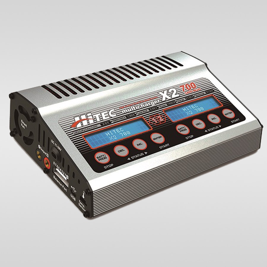 Hitec X2-700 Dual-Port DC Multi-Charger