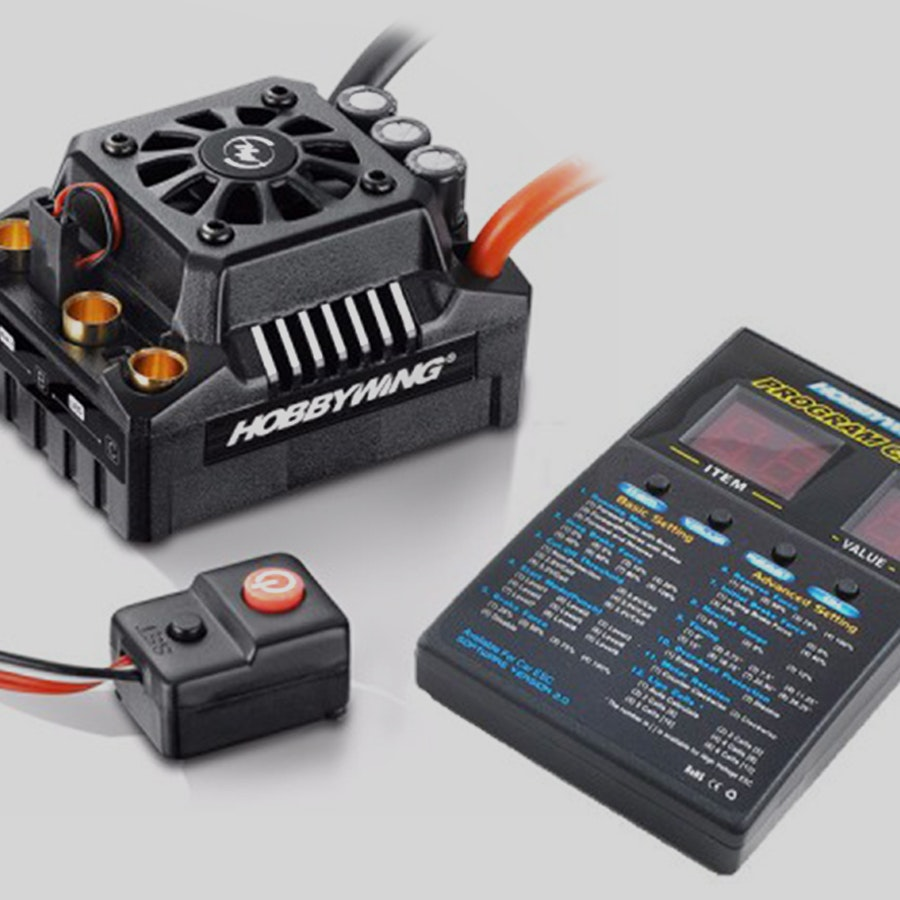 Hobbywing Max8 ESC w/ Ezrun 2200KV and Program Card