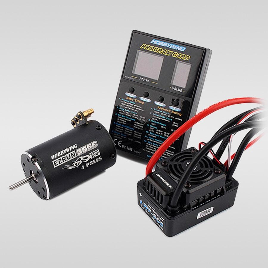 Hobbywing SC-C3 Combo w/ WP-SC8 ESC & EZ Run Motor