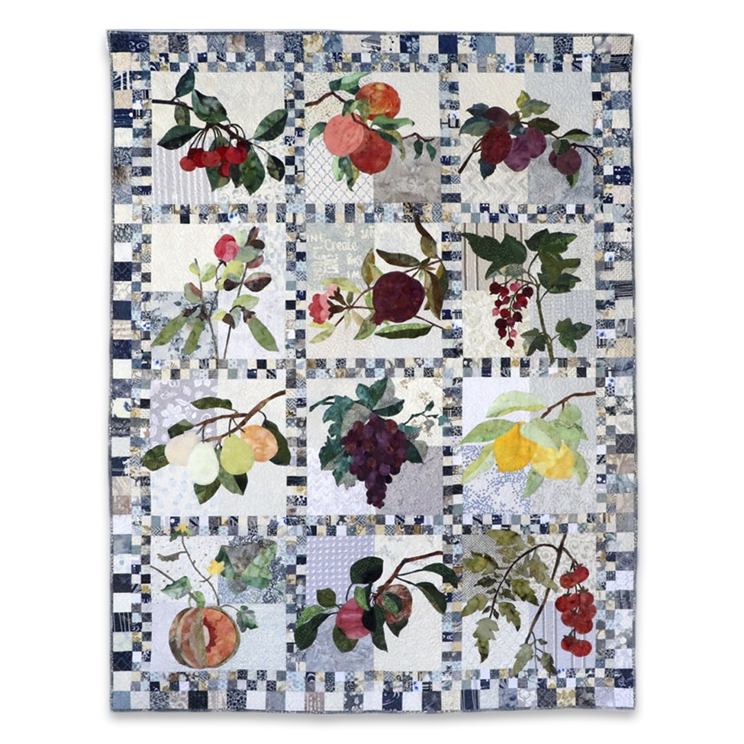 Hoffman Simply Delicious Quilt Kit