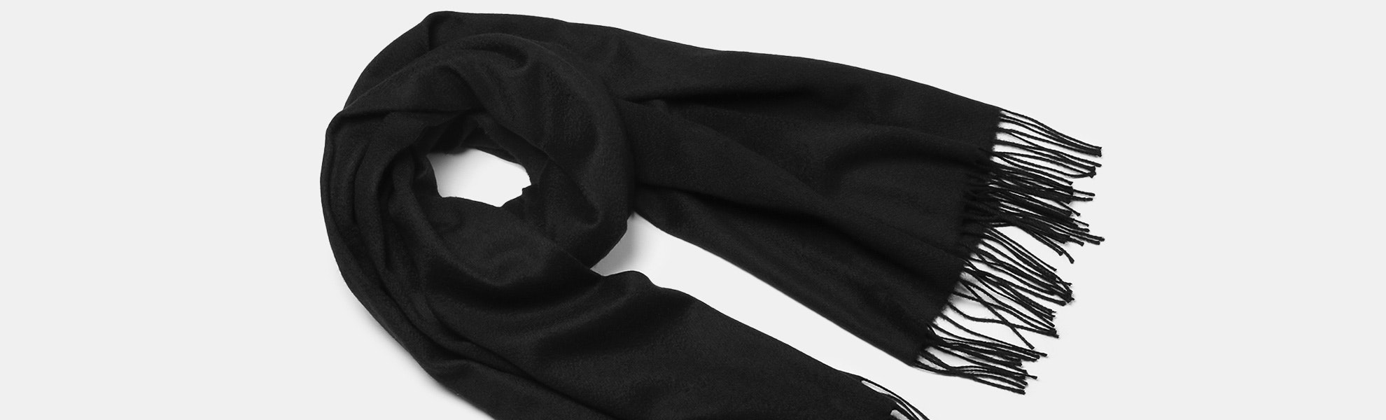 Hogarth Large Cashmere-Lambswool Scarf