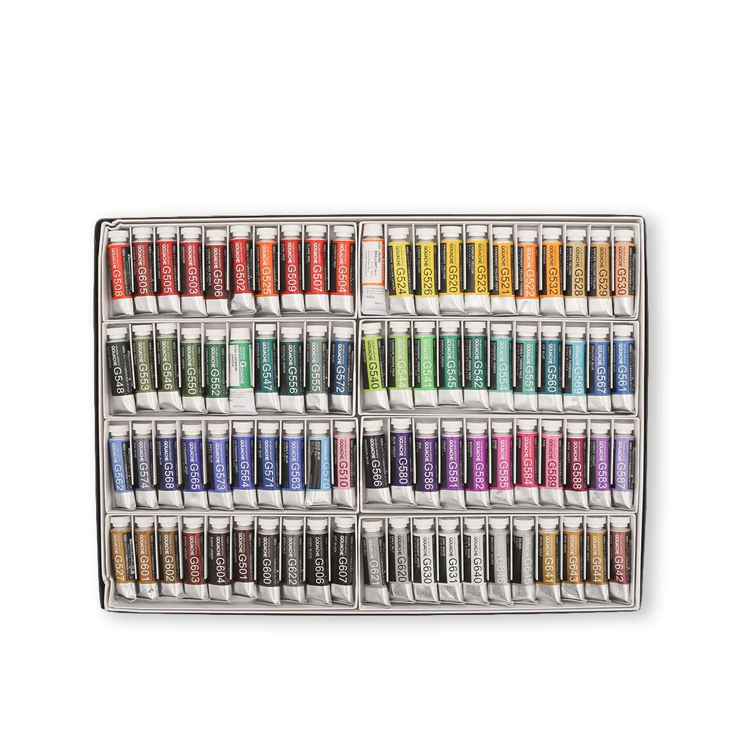 Holbein Designer Gouache 84-Color Set