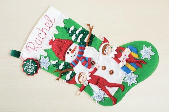 Scout Elf & Snowman Christmas Stocking Kit