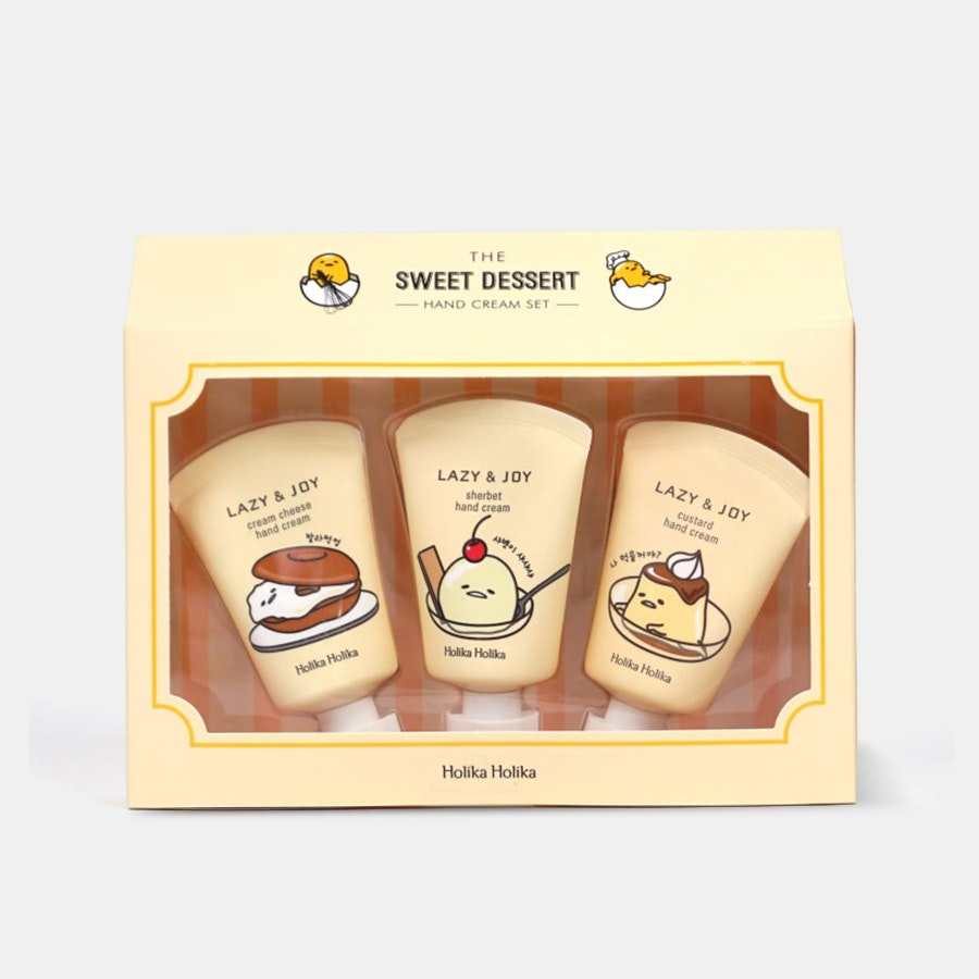 Holika Holika Lazy & Joy Gudetama Hand Cream Set